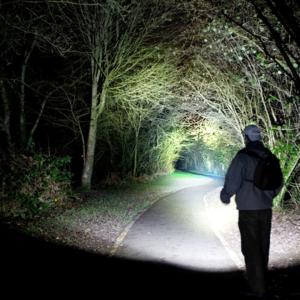 Heavy Duty LED Rechargeable Flashlight