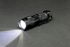 Security LED Flashlight Strobe Mode