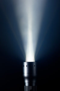 Disorienting Strobe Flashlight